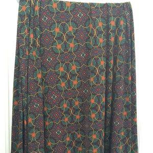 Slinky maxi skirt
